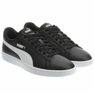 Men's PUMA Leather Shoe - Black